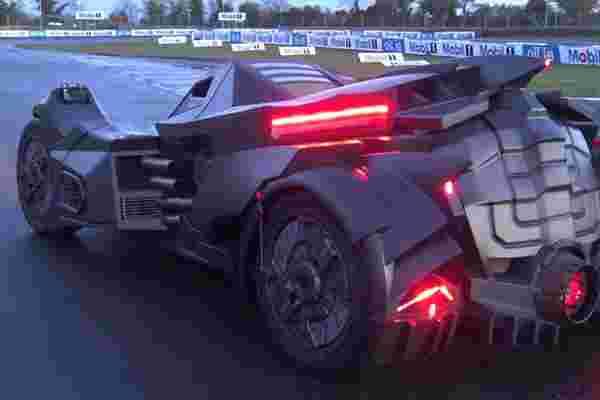 定制汽车制造商创造了现实生活中的坏蛋蝙蝠车 (视频)